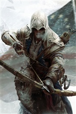Assassin's Creed 3 iPhone wallpaper