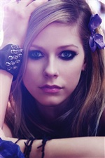 Avril Lavigne 02 iPhone wallpaper