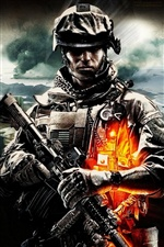 Battlefield 3 PC game iPhone wallpaper