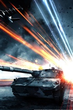 Battlefield 3 Tank iPhone wallpaper