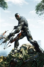 Crysis 3 iPhone wallpaper