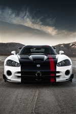 Dodge Viper SRT-10 car iPhone wallpaper