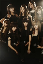 Girls Generation 01 iPhone wallpaper