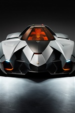 Lamborghini Egoista 2013 supercar iPhone Wallpaper
