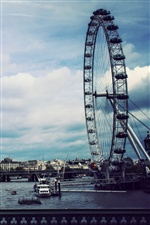 London Eye iPhone wallpaper