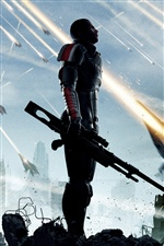 Mass Effect 3 iPhone wallpaper
