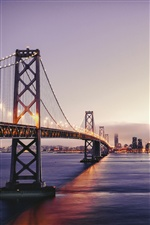 San Francisco, bay bridge iPhone Wallpaper