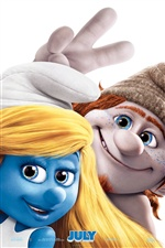 The Smurfs 2 poster iPhone wallpaper