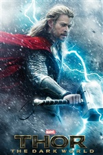 Thor: The Dark World iPhone wallpaper