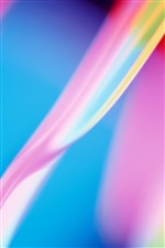 Abstractive pink blue colors iPhone wallpaper