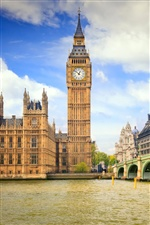 Big ben in London city iPhone wallpaper