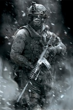 Call of Duty: Modern Warfare 2 iPhone wallpaper