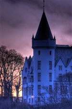 Castle in Norway iPhone wallpaper