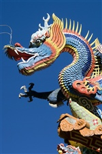China building, dragon carving art iPhone wallpaper