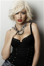 Christina Aguilera 01 iPhone wallpaper