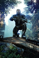 Crysis 3 PC game iPhone wallpaper