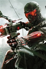 Crysis 3 hunter iPhone wallpaper