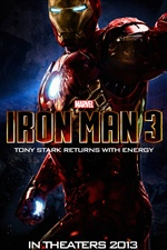 Iron Man 3 poster iPhone wallpaper