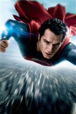 Man of Steel poster iPhone wallpaper