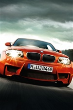 Red BMW car iPhone wallpaper