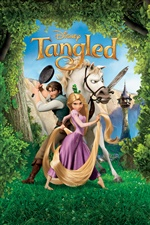 Tangled, Disney movie iPhone wallpaper