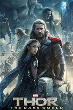 Thor: The Dark World 2013 iPhone wallpaper