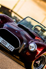 Cobra classic car iPhone wallpaper