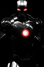 Dark Iron Man iPhone Wallpaper