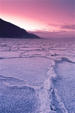 Death Valley National Park, USA, California, salt marshes iPhone wallpaper