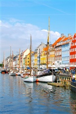 Denmark City iPhone wallpaper