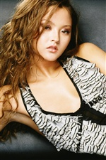 Devon Aoki 01 iPhone Wallpaper
