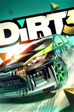 Dirt 3 iPhone wallpaper