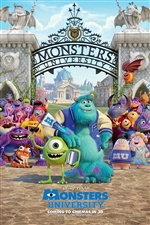 Disney movie, Monsters University iPhone Wallpaper