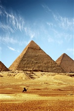 Egyptian Pyramids iPhone wallpaper