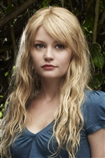 Emilie de Ravin 01 iPhone wallpaper