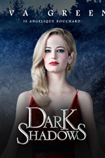 Eva Green in Dark Shadows iPhone wallpaper