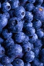 Fruit blueberry iPhone wallpaper