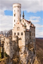 German medieval castle iPhone wallpaper