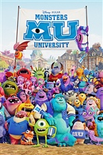 Monsters University 2013 iPhone Wallpaper