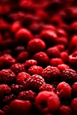 Red raspberry iPhone Wallpaper