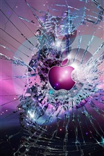 Apple broke the screen iPhone wallpaper