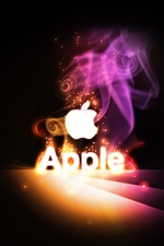 Apple magic fireworks iPhone wallpaper