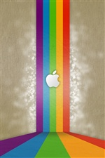 Apple rainbow bridge iPhone wallpaper