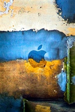 Colorful graffiti wall Apple iPhone Wallpaper