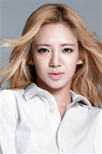 Girls Generation, Hyoyeon iPhone wallpaper