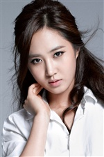 Girls Generation, Yuri iPhone wallpaper