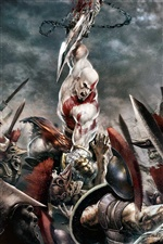 God of War 3 iPhone wallpaper