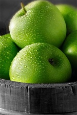 Green apples iPhone wallpaper