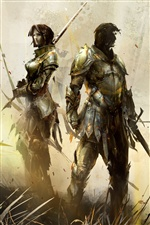 Guild Wars 2 iPhone wallpaper
