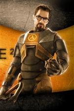 Half-Life 2 PC game iPhone wallpaper